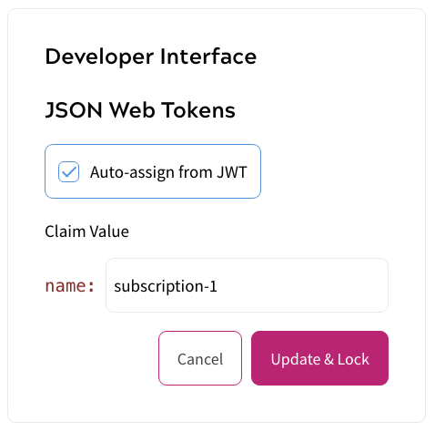 JSON Web Tokens - Product Syncing